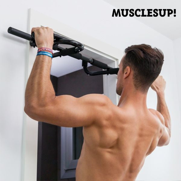 MUSCLES UP! PRO PULL-UP AND EXERCISE BAR-Geeks Buy Gadgets