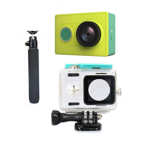 Xiaomi Yi Sports Camera + Waterproof Protective Housing Case + Monopod-Geeks Buy Gadgets