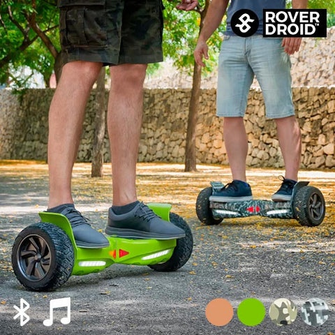 ELECTRIC HOVERBOARD BLUETOOTH SCOOTER WITH ROVER DROID STOR 190 SPEAKER-Geeks Buy Gadgets