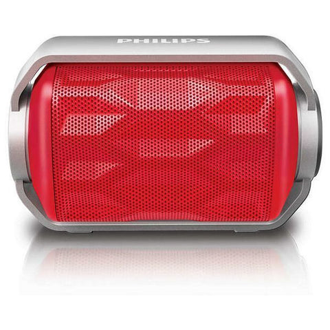PORTABLE BLUETOOTH SPEAKER PHILIPS BT2200R/00 2,8W RED-Geeks Buy Gadgets