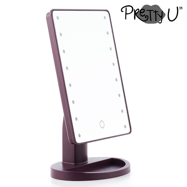 PRETTY U TABLETOP LED MIRROR-Geeks Buy Gadgets