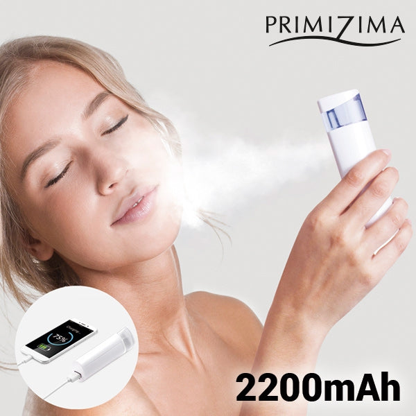 PRIMIZIMA TWO IN ONE FACIAL STEAMER WITH POWER BANK-Geeks Buy Gadgets
