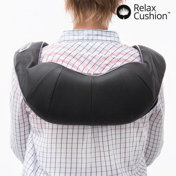 PRO RELAX CUSHION SHIATSU MASSAGER-Geeks Buy Gadgets