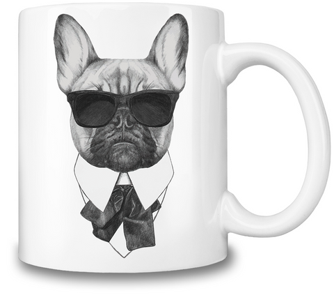 French Bulldog Karl Coffee Mug-Geeks Buy Gadgets