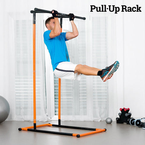 PULL-UP RACK PULL-UP AND FITNESS STATION WITH EXERCISE GUIDE-Geeks Buy Gadgets