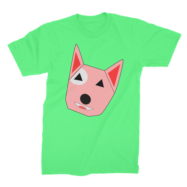 T-Shirt - Cartoon Dog (Mens)-Geeks Buy Gadgets