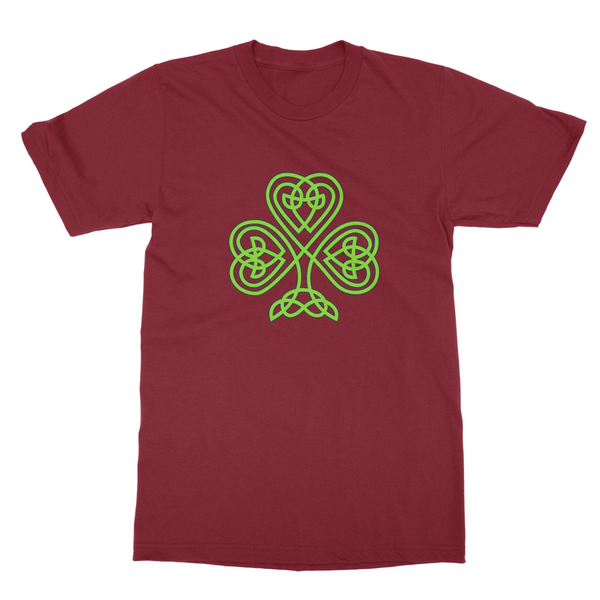 T-Shirt - Celtic Shamrock (Unisex)-Geeks Buy Gadgets