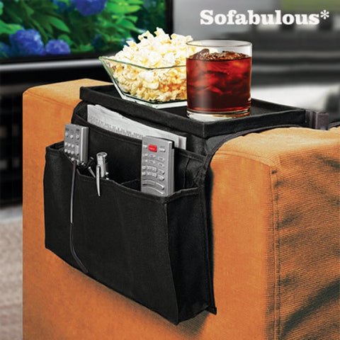 SOFABULOUS REMOTE CONTROL HOLDER WITH TRAY-Geeks Buy Gadgets