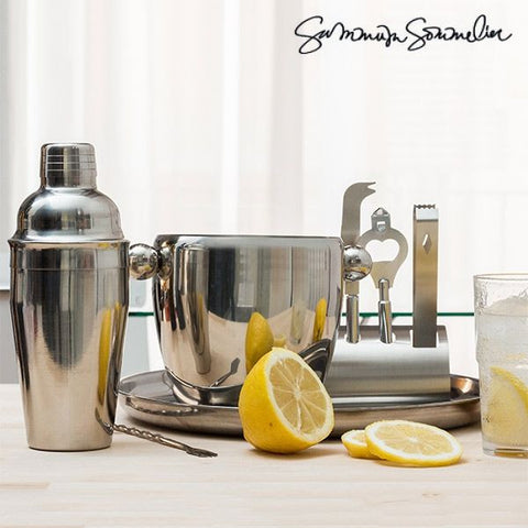 SUMMUM SOMMELIER DELUXE COCKTAIL SET (8 PIECES)-Geeks Buy Gadgets