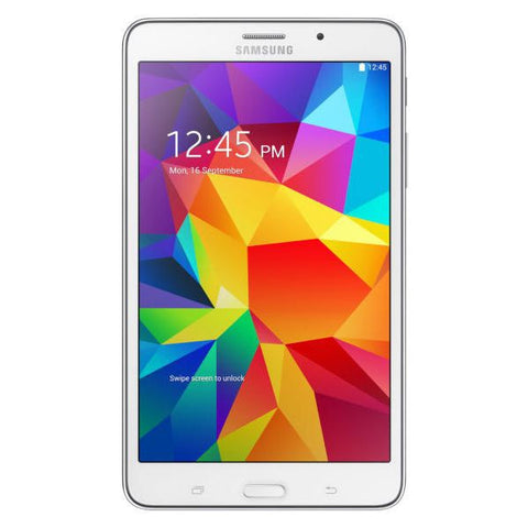 "TABLET SAMSUNG TAB 4 GALAXY 7"" WIFI 8 GB QUAD CORE WHITE-Geeks Buy Gadgets"