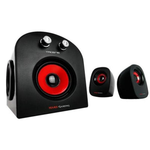 TACENS MARS GAMING SPEAKERS 2.1 MS2 20W RMS USB-Geeks Buy Gadgets