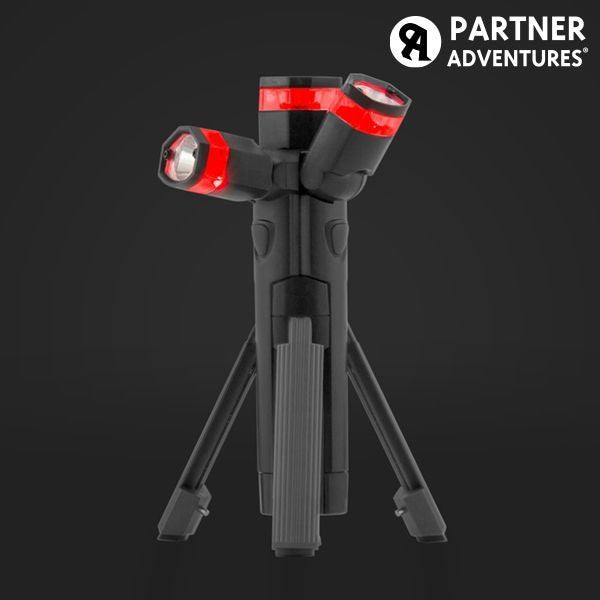 TOTAL TORCH 3 IN 1 LED TORCH WITH TRIPOD-Geeks Buy Gadgets