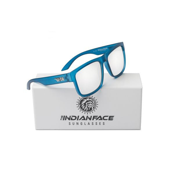 UNISEX SUNGLASSES THE INDIAN FACE POWER FREE SPIRIT BLUE-Geeks Buy Gadgets