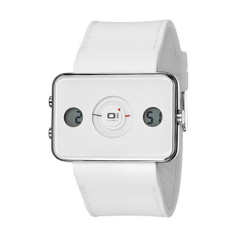 UNISEX WATCH THE ONE IP104-3WH (48 MM)-Geeks Buy Gadgets
