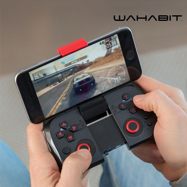 WAHABIT BG-POCKET BLUETOOTH GAMEPAD FOR SMARTPHONES-Geeks Buy Gadgets