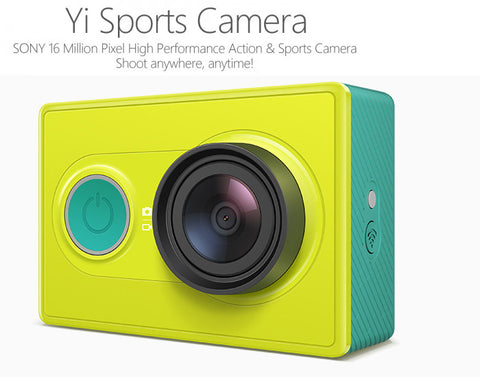 Original XIAOMI Yi Sports Camera-Geeks Buy Gadgets
