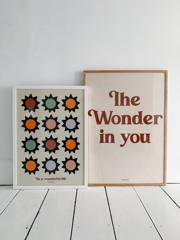 The Wonder in you Children's Print - Spice