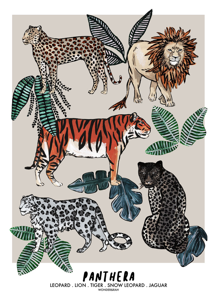 PANTHERA Jungle Children's Print