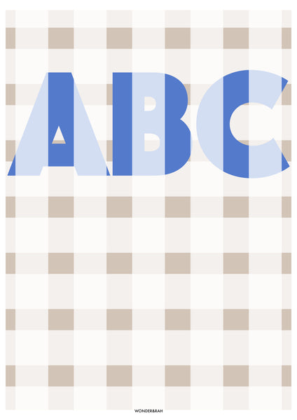 Personalised Gingham Print Colour Option 4