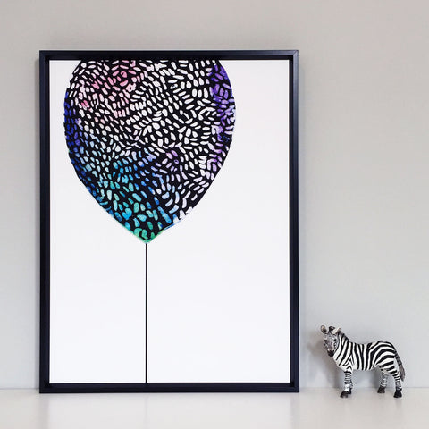 Big Balloon Children's Print