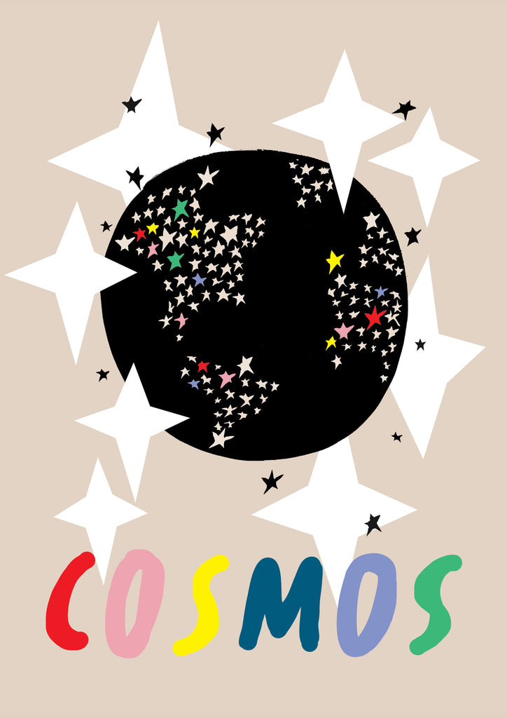 Cosmos Children's Print