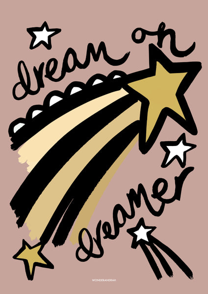 Dream in Pink Children's Print