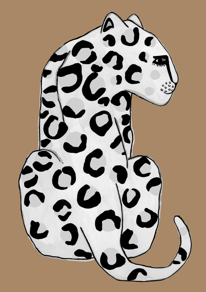 Leopard Butterscotch Children's Print