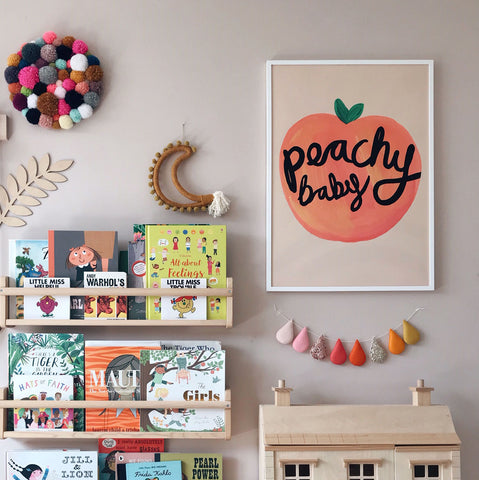 Peachy Children's Print