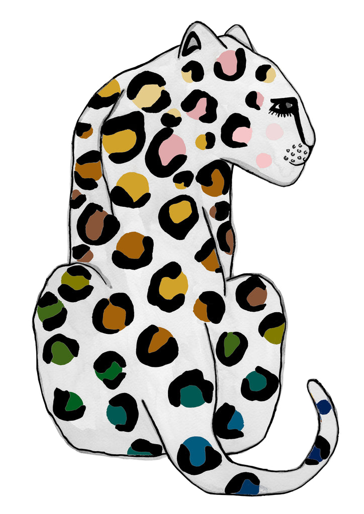 Leopard SPOTS Natural Children's Print