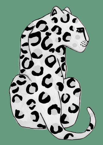 LIMITED EDITION Emerald Leopard Print