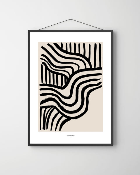 Wave Abstracts 3 Print