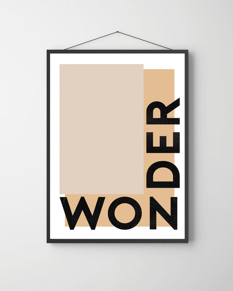 Contemporary Wonder Print