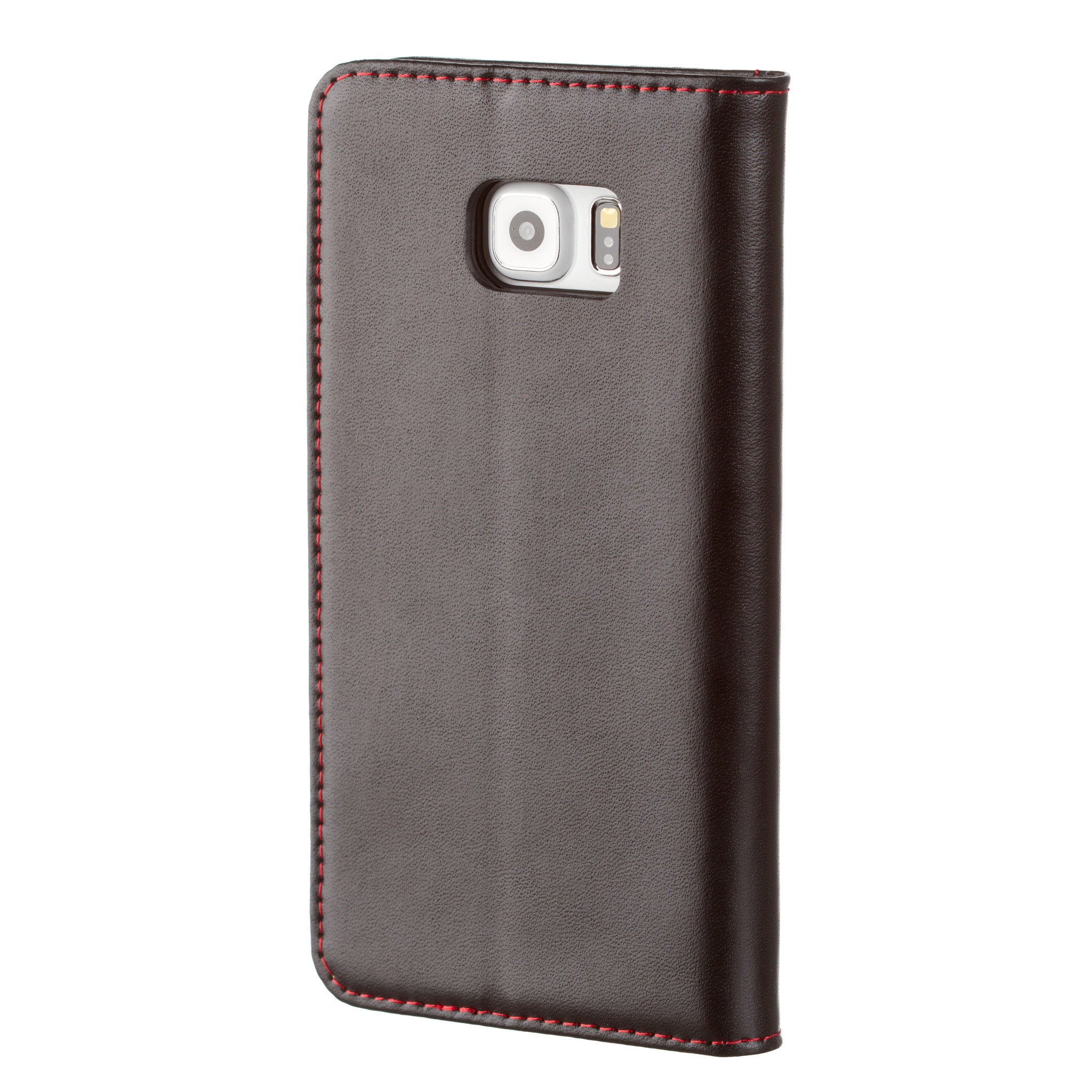 detailed look a440f 63427 Samsung Galaxy S6 Edge+ (Plus) Black Italian Leather Case, with Stand  Function