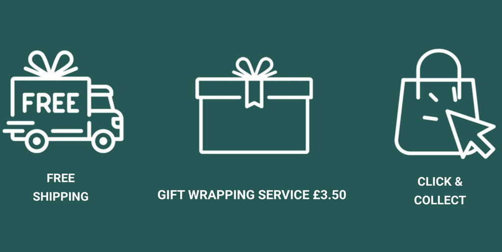 Gift Wrap & Free Shipping Available