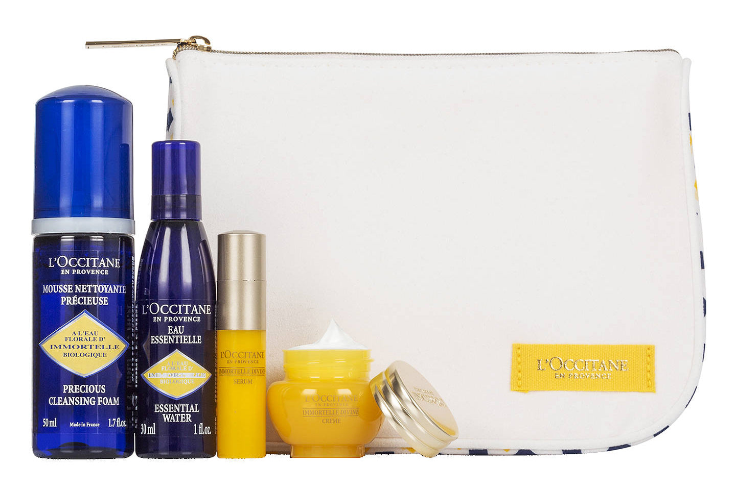L'Occitane Immortelle Skincare Kit