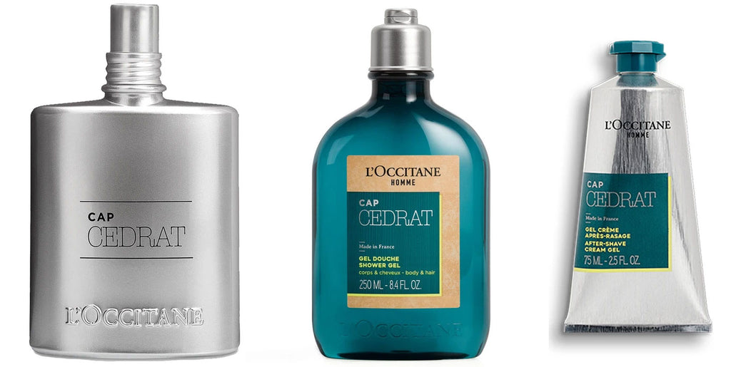 Cedrat Mens Collection from Loccitane