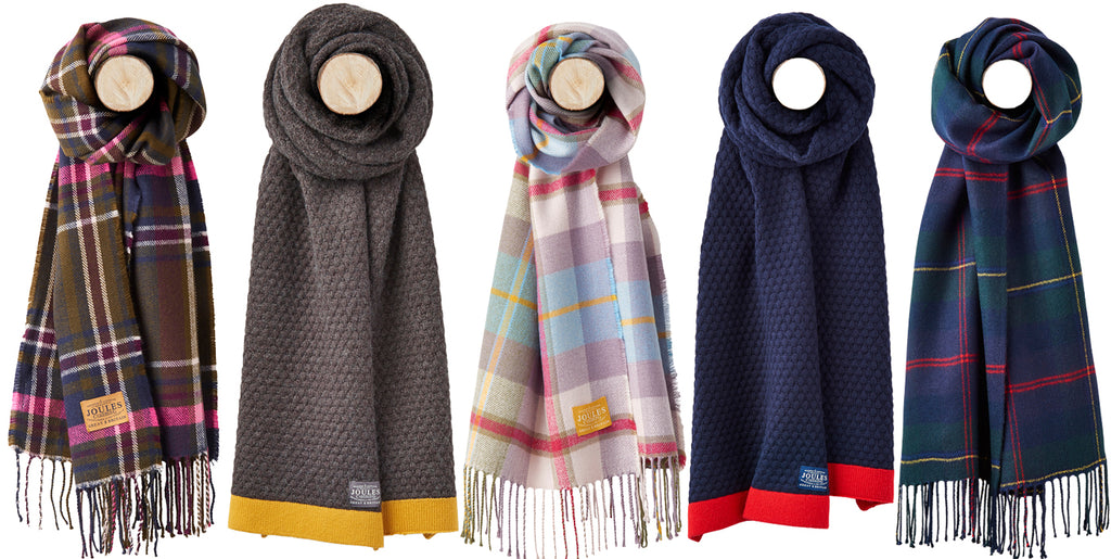 Joules Winter Scarves