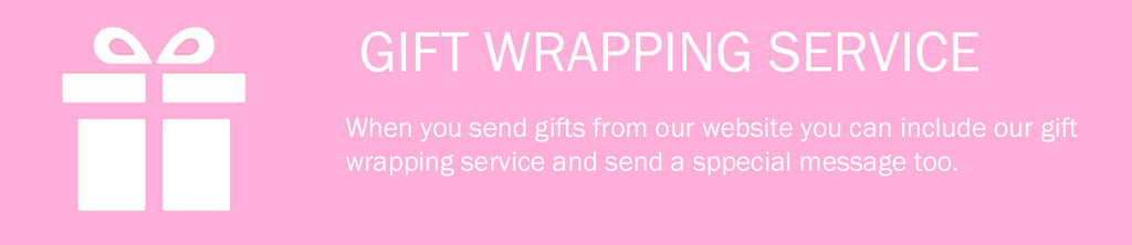 gift wrapping available for mother's day gifts