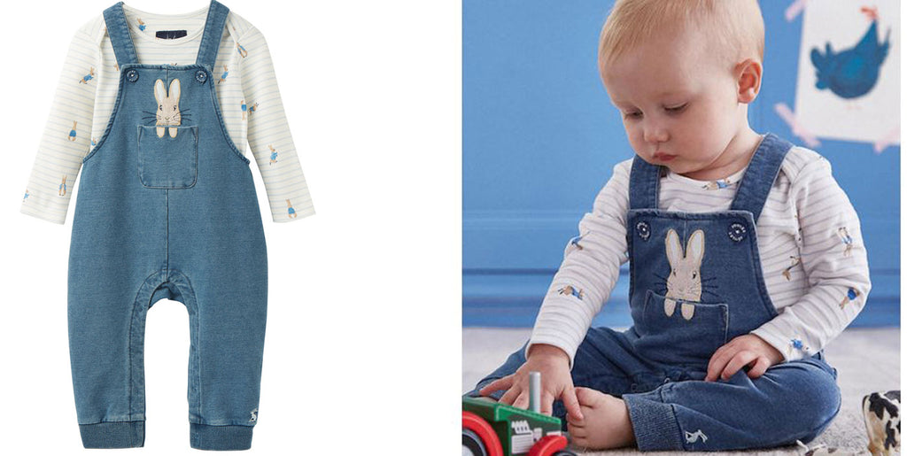 Peter Rabbit Babywear Range from Joules Clothing