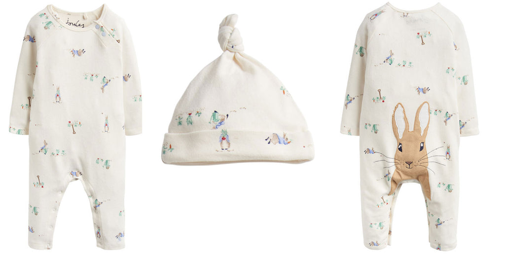 Official Peter Rabbit Baby Clothing Range by Joules