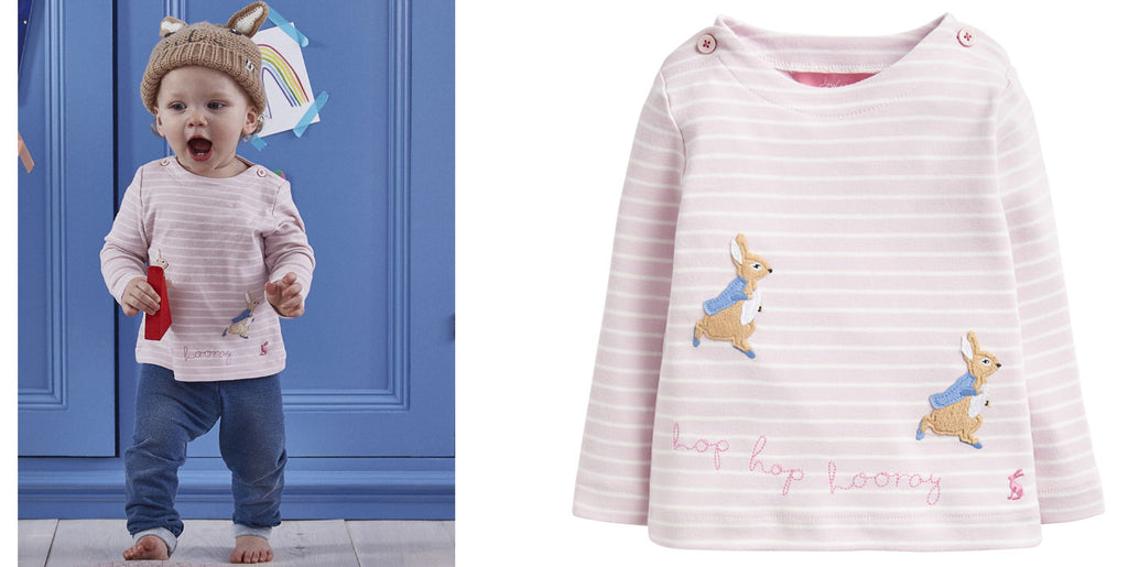 Peter Rabbit Official Babywear Collection by Joules