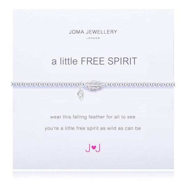 Joma A Little Free Spirit Bracelet In SIlver