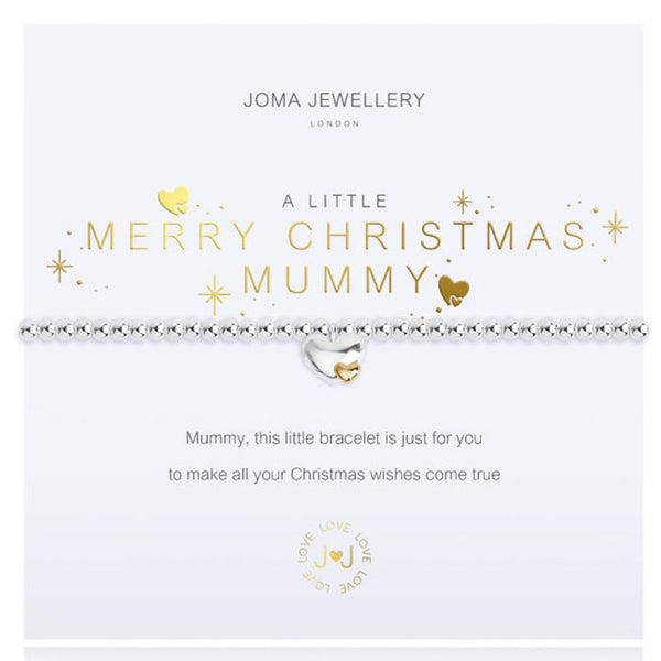 Merry Christmas Mummy Charm Bracelet from Joma Jewellery
