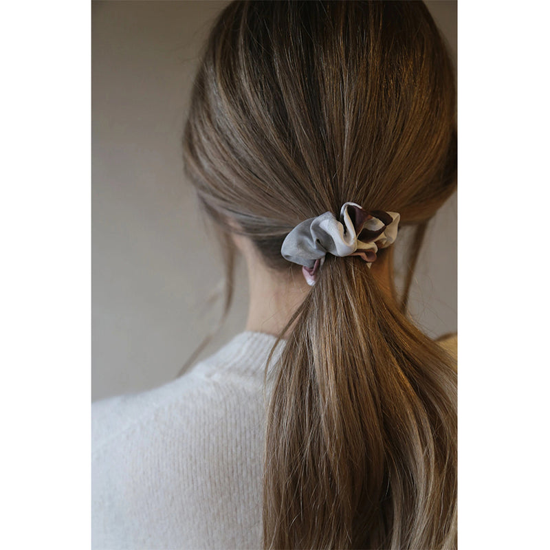 Grey Pink Purple Red White Soft Scrunchie Tutti Accessory Hair