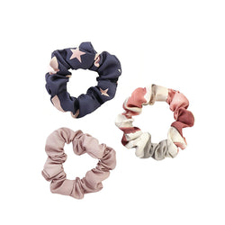 Bloom Pack By Tutti Three Scrunchies Polyester Gift Set