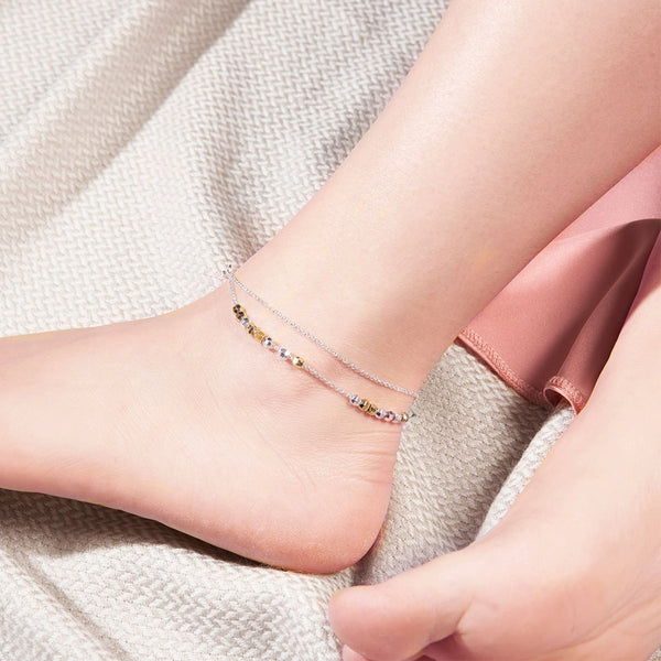 Ankle Chain By Joma Jewellery In Gold And Silver