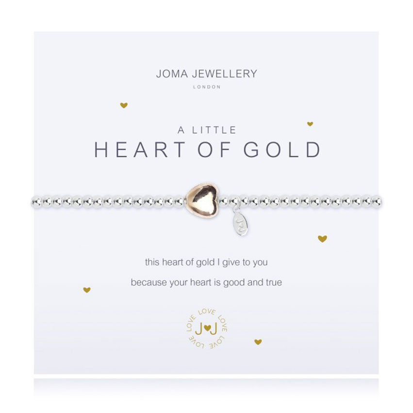Joma A Little Heart Of Gold Bracelet