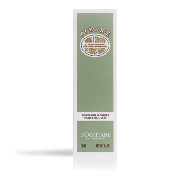 Soft moisturising L'Occitane Hand Cream Gift for Winter Almond Scent