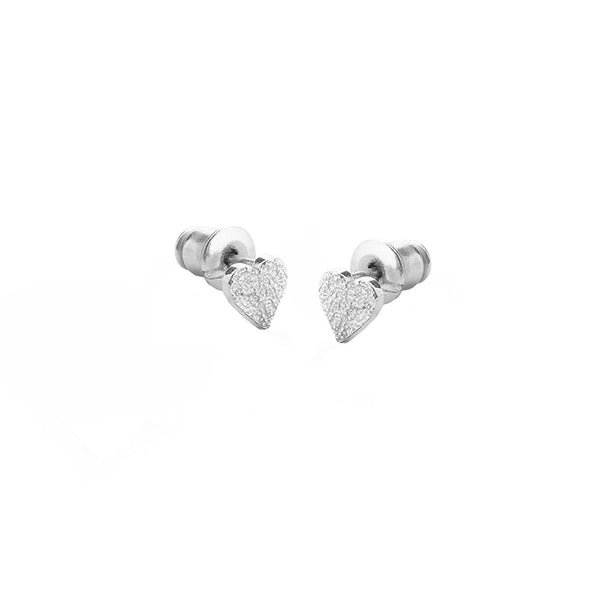 Love Heart Silver Tutti Admire Earrings