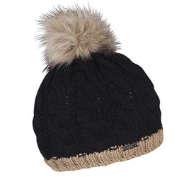 Sabbot Andrea Hat In Black And Tan